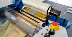 metalized film imprinting unit copy