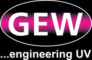 GEW logo on Black Background scaled